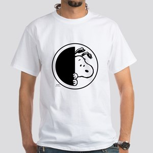 Sneaky Snoopy White T-Shirt