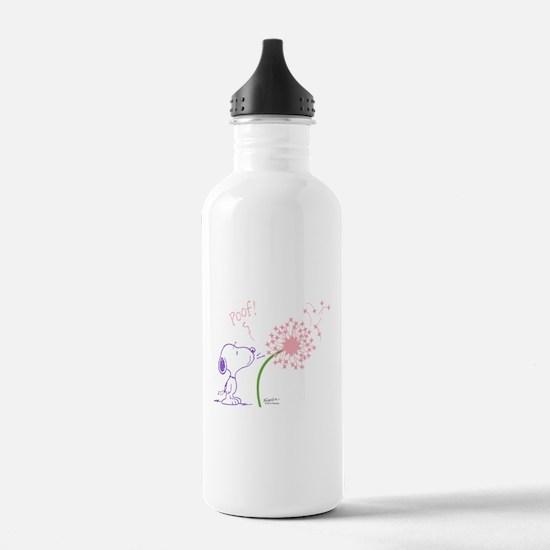 Snoopy Dandelion Water Bottle