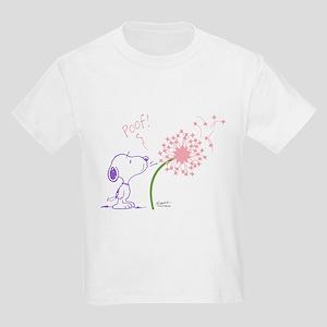 Snoopy Dandelion Kids Light T-Shirt