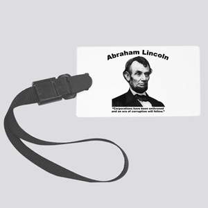 Lincoln: Corps Large Luggage Tag