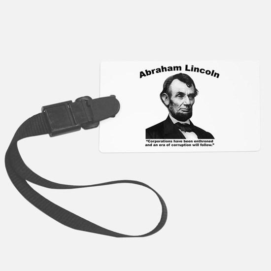 Lincoln: Corps Luggage Tag