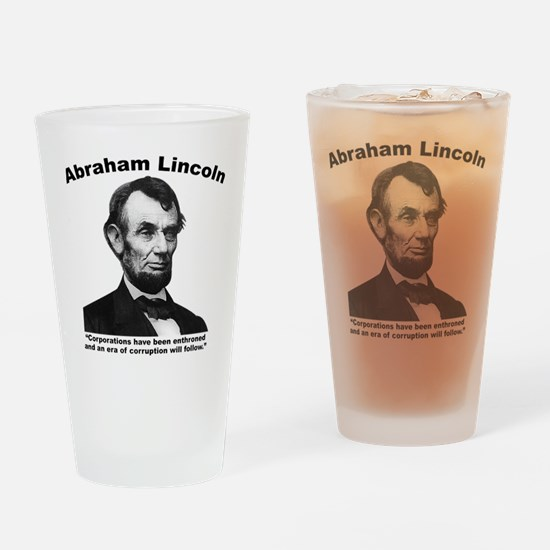 Lincoln: Corps Drinking Glass