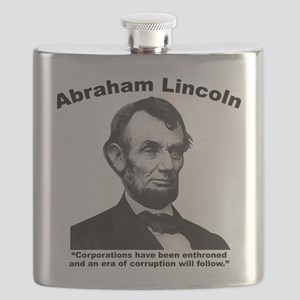 Lincoln: Corps Flask