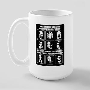 When Democrats Speak Large Mug