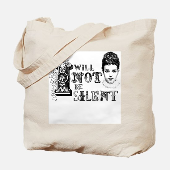 I Will Not Be Silent Tote Bag