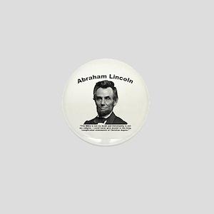 Lincoln: Bible Mini Button