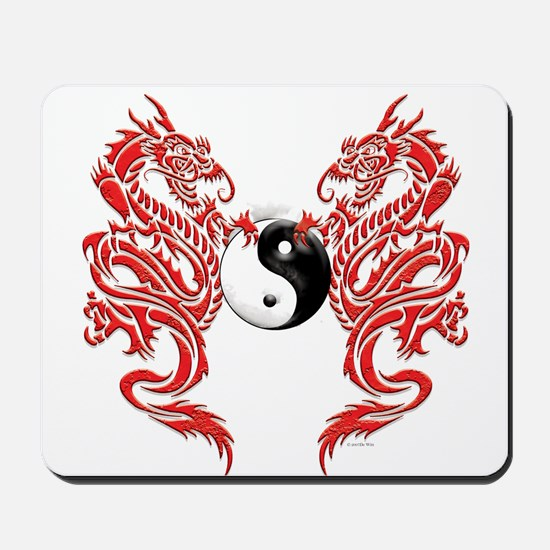 Dragons (W).png Mousepad