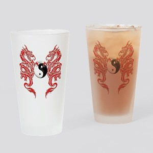 Dragons (W) Drinking Glass