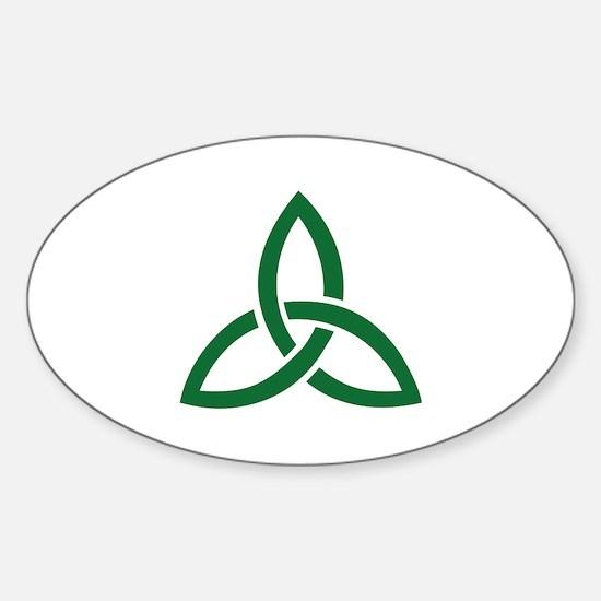 Celtic knot Sticker (Oval)