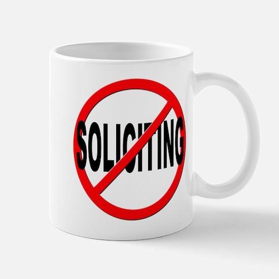 No Solicitation Mug