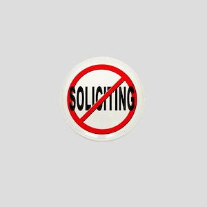 No Solicitation Mini Button
