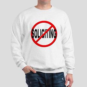 No Solicitation Sweatshirt