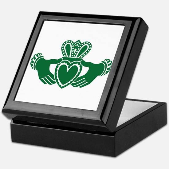 Celtic claddagh Keepsake Box