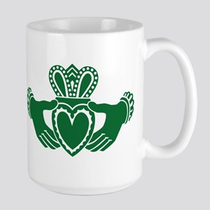 Celtic claddagh Large Mug