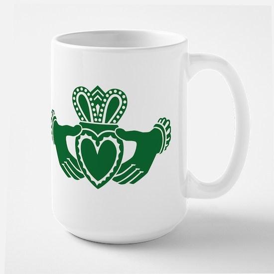 Celtic claddagh Large Mug