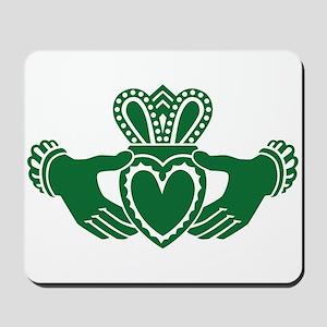 Celtic claddagh Mousepad
