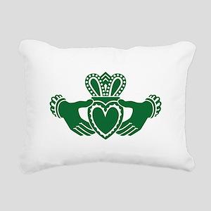 Celtic claddagh Rectangular Canvas Pillow