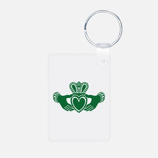 Celtic claddagh Aluminum Photo Keychain