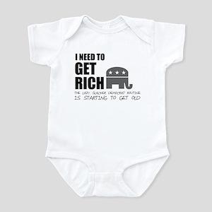Get Rich Infant Bodysuit