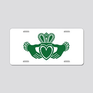 Celtic claddagh Aluminum License Plate