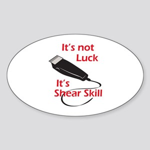 SHEAR SKILL Sticker