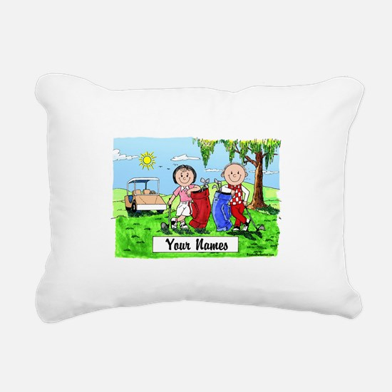 Unique Cartoon picture Rectangular Canvas Pillow
