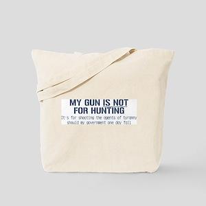 My Gun Tote Bag