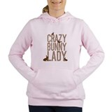 Crazy bunny lady Sweatshirts and Hoodies