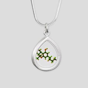 THC Molecule Necklaces