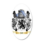 Jeff 20x12 Oval Wall Decal