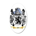 Jeff 35x21 Oval Wall Decal