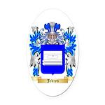 Jedrys Oval Car Magnet