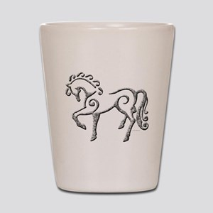 Celtic Horse Shot Glass