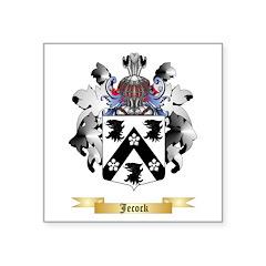 Jecock Square Sticker 3