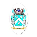 Jeavons Oval Car Magnet
