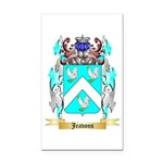 Jeavons Rectangle Car Magnet