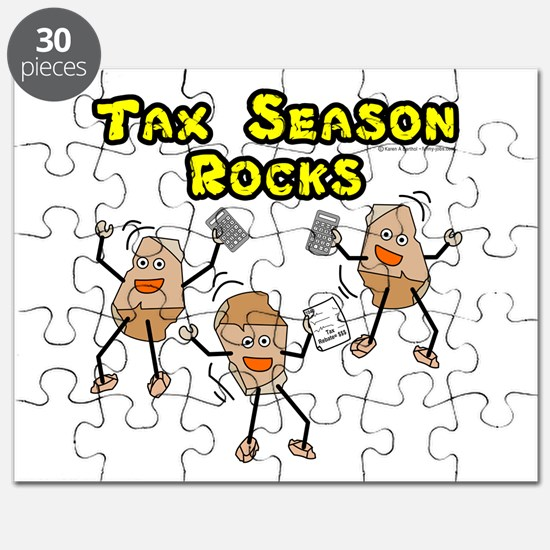 Tax Season Rocks Puzzle