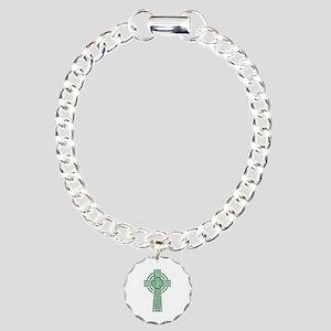 Celtic cross Charm Bracelet, One Charm