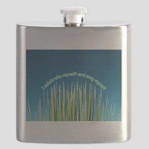 I Celebrate Myself Flask