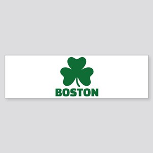 Boston shamrock Sticker (Bumper)