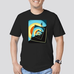 Spinning Disc Golf Baskets 1 T-Shirt