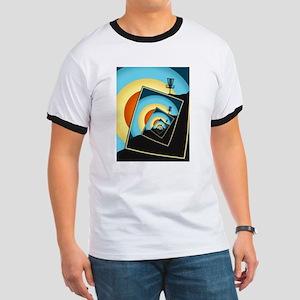 Spinning Disc Golf Baskets 1 T-Shirt