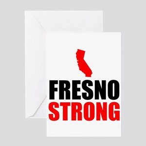 Fresno Strong Greeting Cards