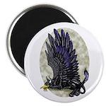 """Dreslough's """"Black Gryphon"""" 2.25"""" Magnet (100 pack"""