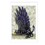 "Dreslough's ""Black Gryphon"" Postcards (Package of"