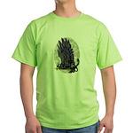 "Dreslough's ""Black Gryphon"" Green T-Shirt"