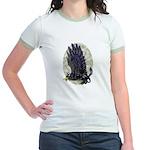 """Dreslough's """"Black Gryphon"""" Jr. Ringer T-Shirt"""