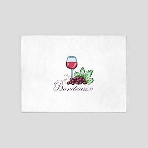 Bordeaux 5'x7'Area Rug