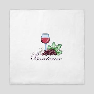Bordeaux Queen Duvet