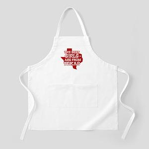 Texas Girl BBQ Apron